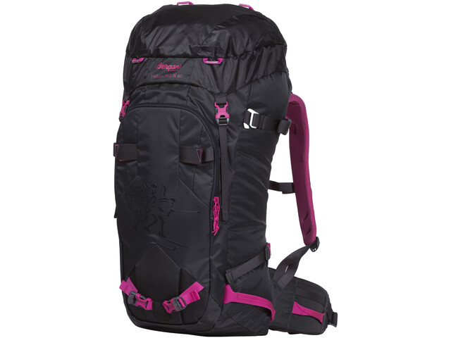 Bergans Helium PRO 40 Backpack Dame solid charcoal/hot pink